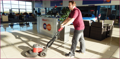 Showroom cleaning services in Peterborough